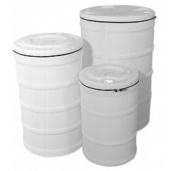 Hastings Dura-Life 15 Gallon Sealable Open Head Plastic Drum 1
