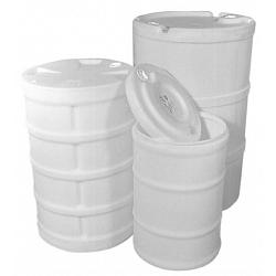Hastings Dura-Life 15 Gallon Slip On Lid Plastic Drum 1