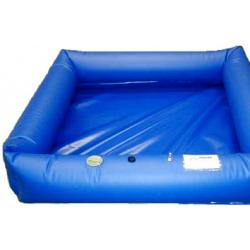 Husky Hazmat Air Wall Decontamination Pool - 4\' x 8\' x 1\' 1