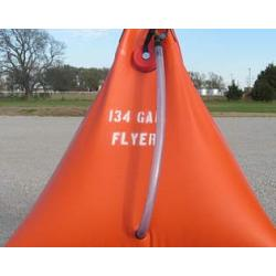 Husky Flyer Helicopter Transportable Potable Water Tank - 72 Gallon 1