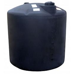 Norwesco Vertical Water Storage Tank (Black) - 220 Gallon 1