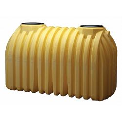Norwesco Ribbed Single Compartment Septic Tank  - 1250 Gallon 1