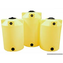 Poly-Mart Heavy Weight Crosslink Chemical Storage Tank - 125 Gallon 1