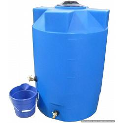 Poly-Mart Sunshield Heavy Weight Emergency Water Storage Tank - 100 Gallon 1