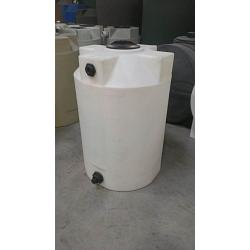 Poly-Mart Heavy Weight Vertical Chemical Storage Tank - 100 Gallon 1