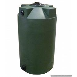 Poly-Mart Vertical Water Storage Tank - 125 Gallon 1