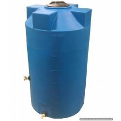 Poly-Mart Emergency Water Storage Tank - 125 Gallon 1