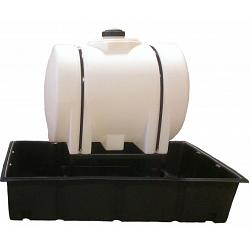 Poly-Mart HDPE Chemical Injection System (1.5 SG) - 250 Gallon 1