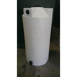 Poly-Mart Heavy Weight Vertical Chemical Storage Tank - 150 Gallon 1