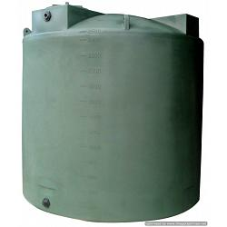 Poly-Mart Sunshield Vertical Water Storage Tank - 2500 Gallon 1