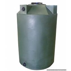 Poly-Mart Sunshield Vertical Water Storage Tank - 500 Gallon 1