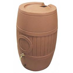 Poly-Mart Rain Saver 54 Gallon Rain Barrel 1