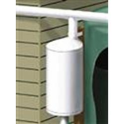 "Poly-Mart 12"" Post/Wall-Mounted First Flush Water Diverter Kit 1"