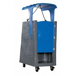 PolyJohn Polylift With Roof Portable Restroom 1