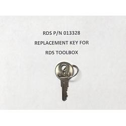 RDS Toolbox Replacement Key (Key # Needed) 1