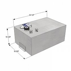 RDS 18 Gallon Rectangle General Purpose Fuel Tank 2