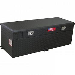 RDS 60 Gallon Diesel Auxiliary Tank & Toolbox Combo (Black) 1