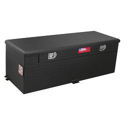 RDS 91 Gallon Diesel Auxiliary Tank & Toolbox Combo (Black) 1