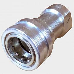 "Rhino Coupler - Dry Break 1"" NPT(F) 1"