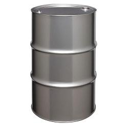Skolnik Tight Head 55 Gallon Stainless Steel Drum 1