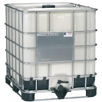Mauser Caged IBC Tote (Washed Bottle) - 275 Gallon 1