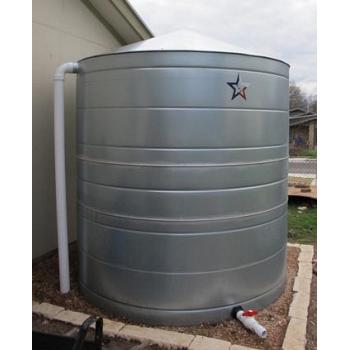 Galvanized Steel Water Storage Cistern Tank - 1200 Gallon 1