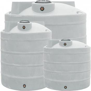 Duracast Ribbed Vertical Chemical Tank - 6000 Gallons 1
