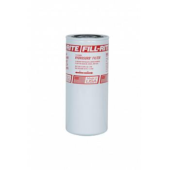 "Fill-Rite F1810HM0 1"" - 12 UNF 18 GPM 10 Micron Water Sensing Spin-On Fuel Filter, Hydrosorb 1"