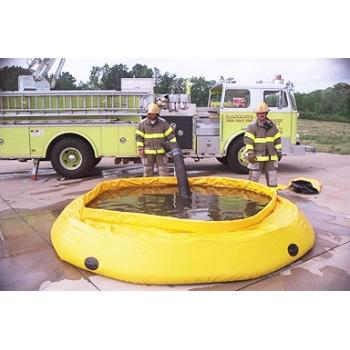 Fol-Da-Tank Self Supporting Portable Water Tank (Fire Department Model)- 10000 Gallon 1