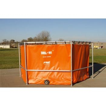 Fol-Da-Tank Quick Assemble DBL-HI Portable Tank - 5000 Gallon 1