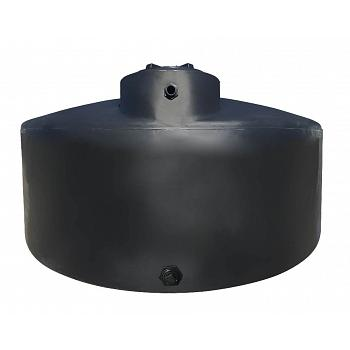 Norwesco Vertical Water Storage Tank (Black) - 550 Gallon 1