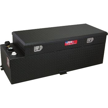 RDS 60 Gallon Refueling Tank & Toolbox Combo (Black) 1