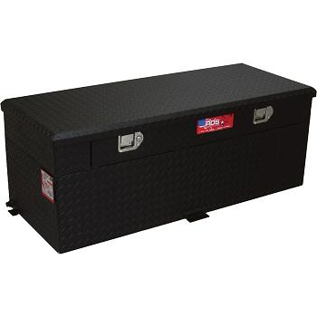 RDS 51 Gallon Diesel Auxiliary Tank & Toolbox Combo (Black) 1