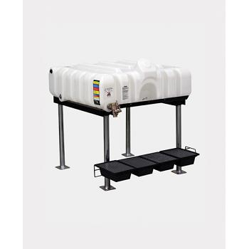 Rhino 45 Gallon Horizontal Gravity Feed Tank System 1