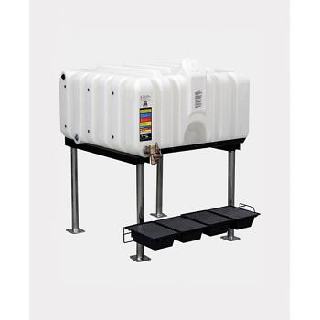 Rhino 80 Gallon Gravity Feed Tank System 1