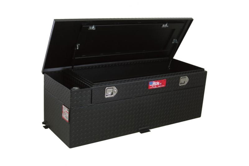 RDS 60 Gallon Diesel Auxiliary Tank & Toolbox Combo (Black)