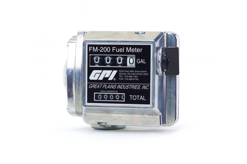 ATI GPI Mechanical Fuel Meter With Strainer
