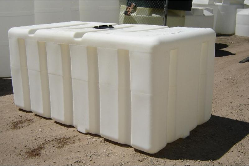 Custom Roto-Molding 750 Gallon Rectangular Tank