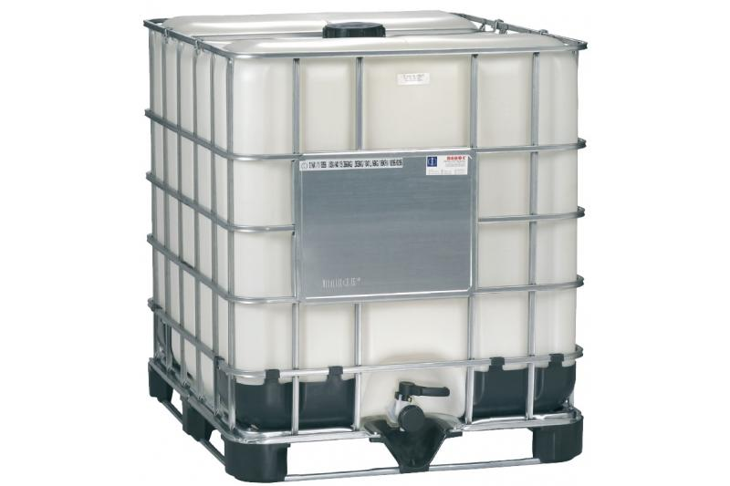 Mauser Caged IBC Tote (Washed Bottle) - 275 Gallon