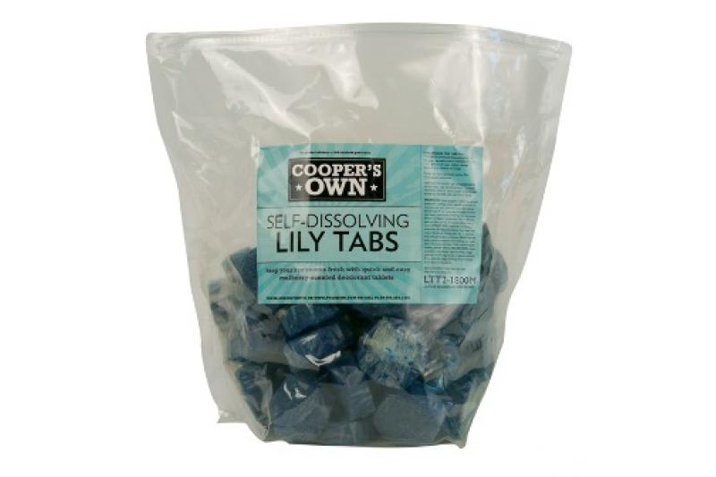 Lily Tabs Deodorizer Tablets - Mulberry Scent (180 Per Case)