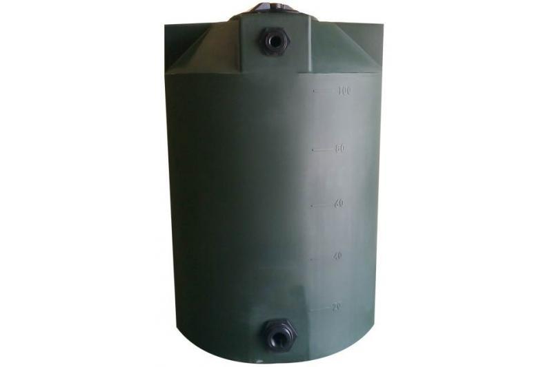 polymart vertical water storage tank 100 gallon