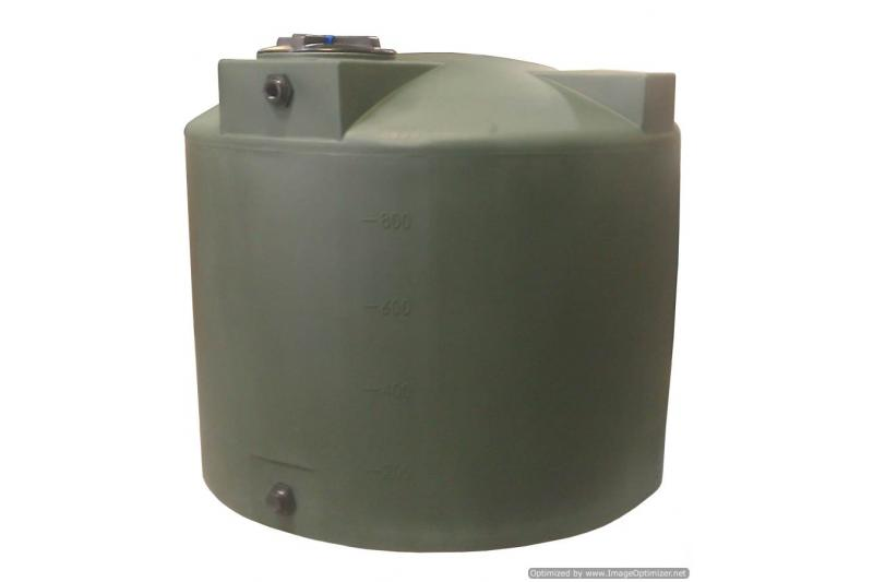 Poly-Mart Vertical Water Storage Tank - 1000 Gallon