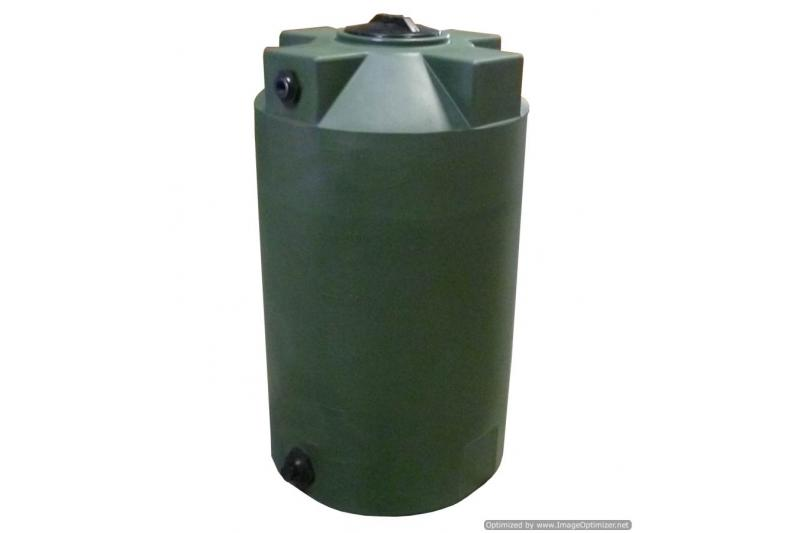 Poly-Mart Vertical Water Storage Tank - 125 Gallon
