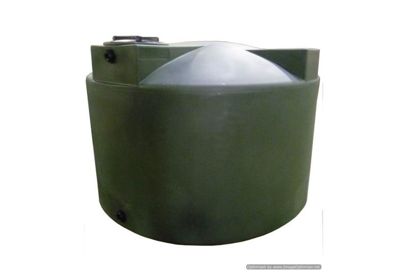 Poly-Mart Vertical Water Storage Tank - 1500 Gallon