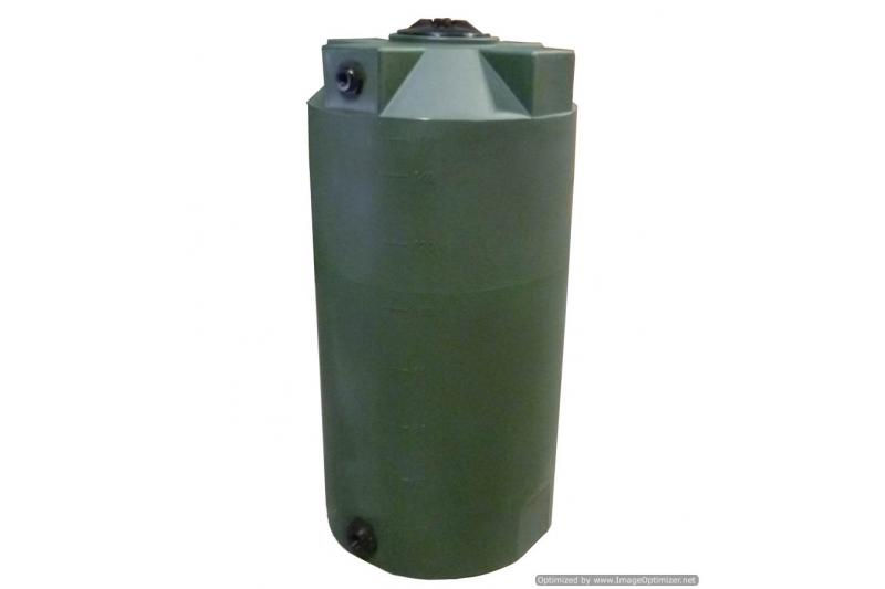 Poly-Mart Sunshield Vertical Water Storage Tank - 150 Gallon