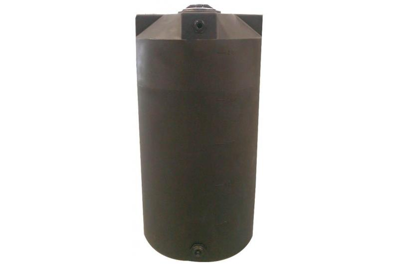 Poly-Mart Vertical Water Storage Tank - 250 Gallon