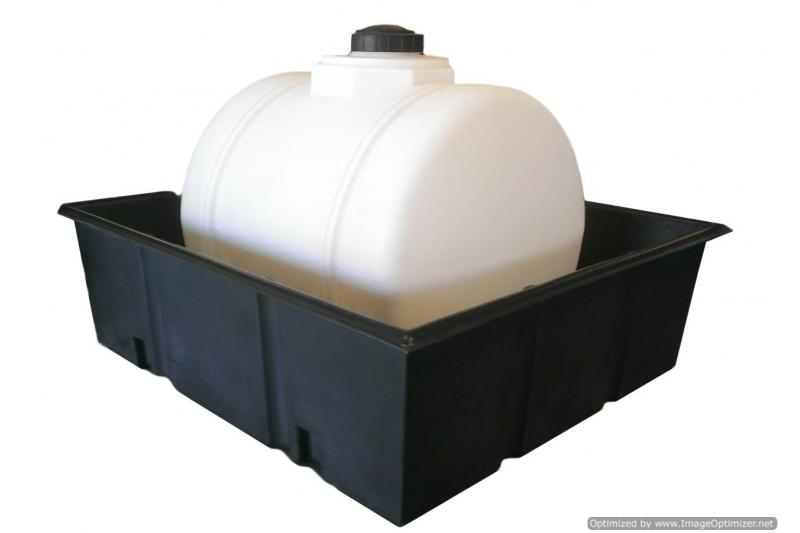 Poly-Mart Open Top Containment Tank - 200 Gallon