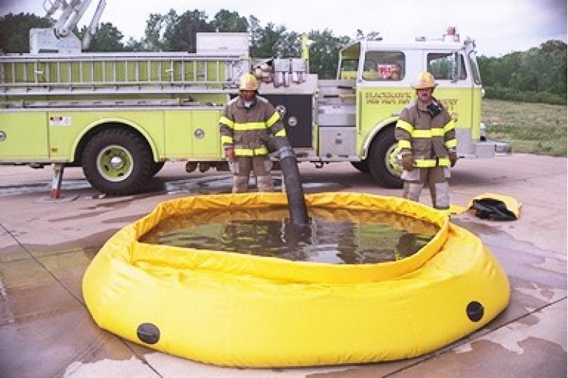 Fol-Da-Tank Self Supporting Portable Water Tank (Fire Department Model)- 3000 Gallon