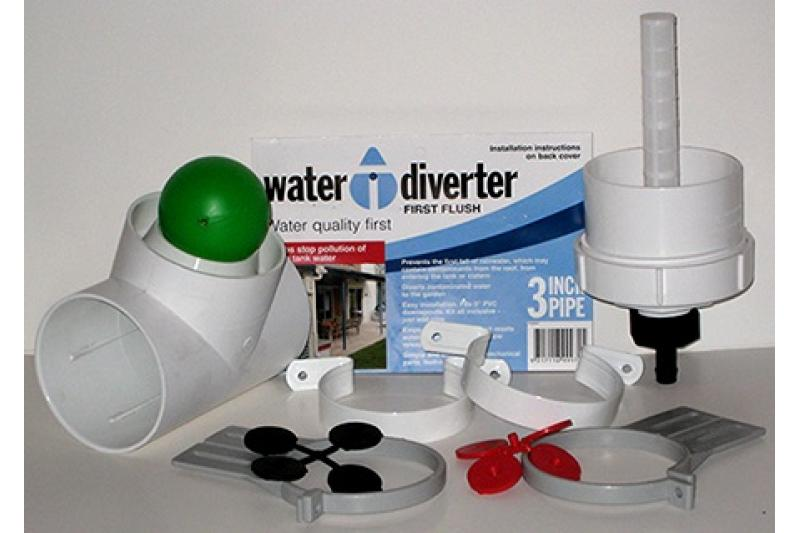 Poly-Mart First Flush Water Diverter Kit - 4 Inch Round