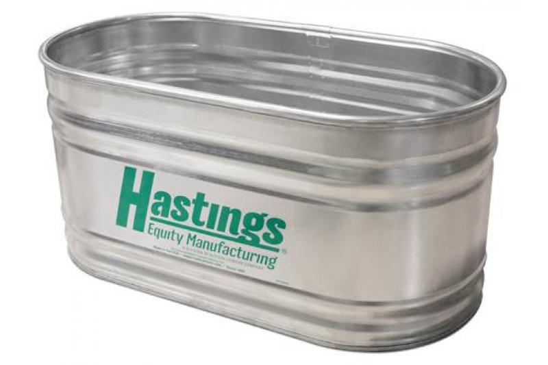 Hastings 22GA Steel Round End Stock Tank - 2\' x 2\' x 5\' - 131 Gallon